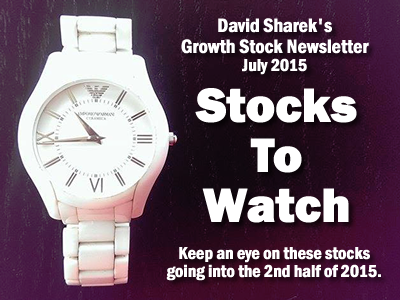 Click the image above to doanload David Sharek's Growth Stock Newsletter